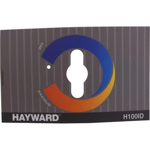 Hayward - Label, Control Panel, H-Series A. Ground - 613098