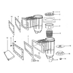 Jacuzzi Deckmate Deckmate: Vinyl and Fiberglass Skimmer