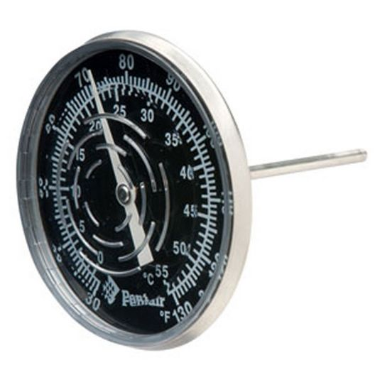 Pentair - Inline Thermometer 30/130 F with Nylon Well - 613356