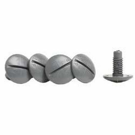 Plastic Wheel Screw for Legend, Gray