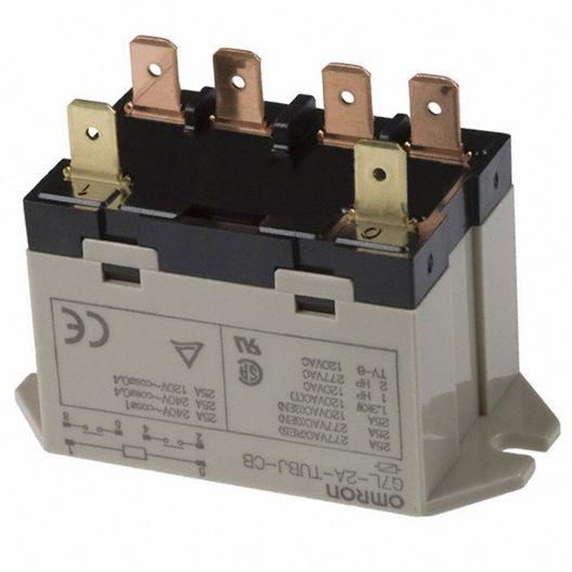 Master Distributors - Omron Relay, DPST, 24V Dc Coil - 613427