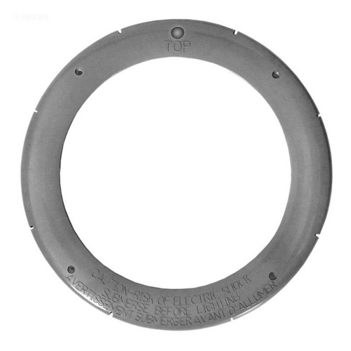 Pentair - Face Ring, Large Plastic, Gray