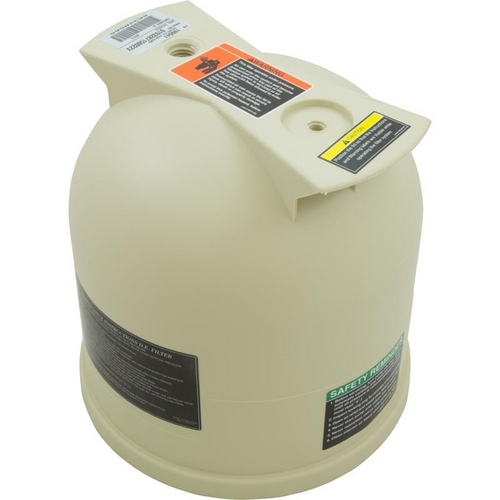 Pentair - Lid, 44/88 Filter, Almond