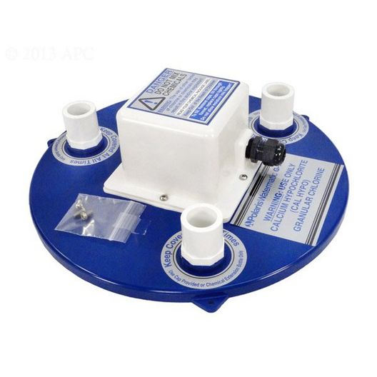 Zodiac  Lid Assembly with Solenoid 120V Blue