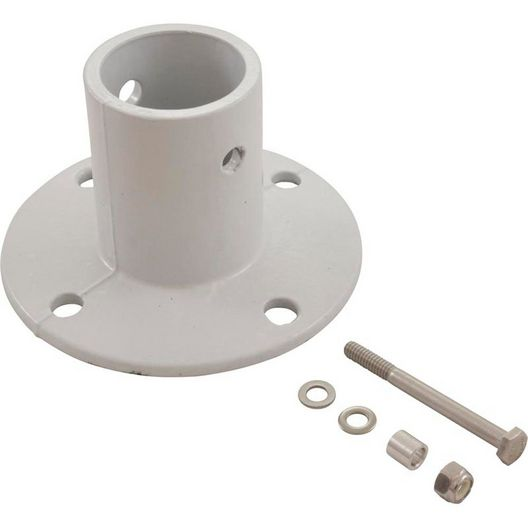 S.R. Smith - Pool Smith Aluminum Deck Anchor Flange, White - 613725