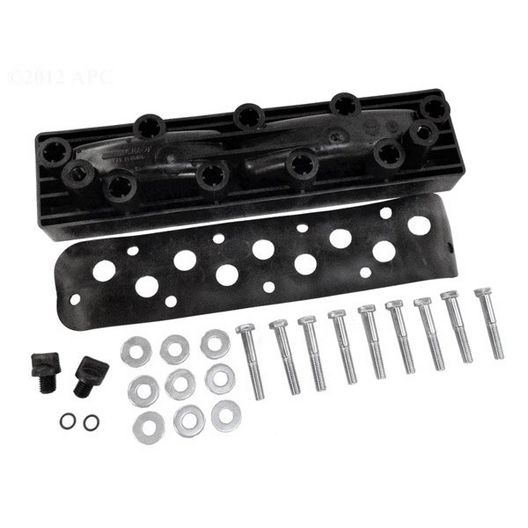 Zodiac - Rear Header, with Hardware and Gaskets - 614022