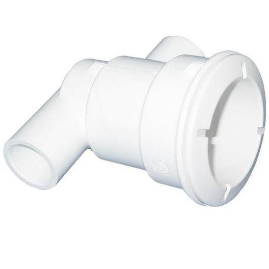 Waterway  Poly Gunite 1/2in Slip  1in Air Spigot x 3/4in Water Slip Ell Jet Body Assembly