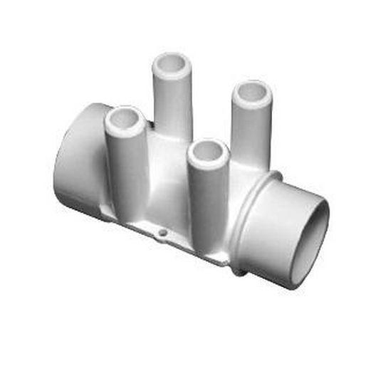 Waterway - Manifold 1-1/2in. S x 1-1/2in. SPG(4)3/4in. Barbs - 614244