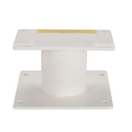 S.R. Smith - 6' Frontier III Diving Board with Cantilever Stand, Radiant White - 616453