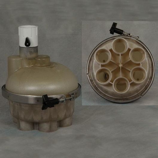 A&A Manufacturing - Top Feed 6 Port 1-1/2in. T-Valve Water Actuator - 61700