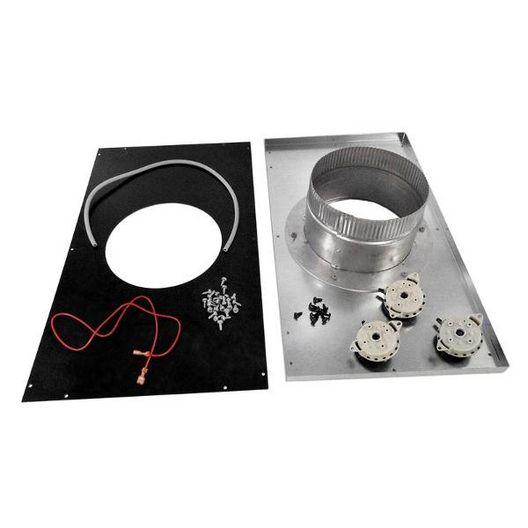 Hayward  UHXNEGVT14001 H-Series Heater Indoor Vent Adapter Kit Vertical H400