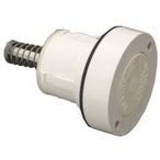 A&A Manufacturing - Style I High Flow Cleaning Head, White - 61766