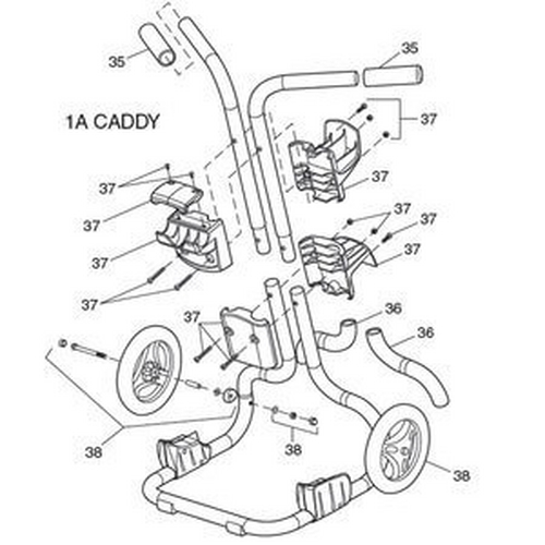 Polaris - Caddy for 9300 Sport/9300xi/9400 Sport
