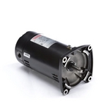 48Y Square Flange 1/2 HP Up-Rated Pool Filter Motor, 9.9/5.0A 115/230V