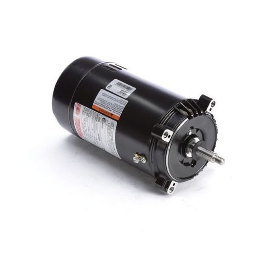 56J C-Face 1/2 HP Single Speed Full Rated Pool Filter Motor, 11.0/5.5A 115/230V