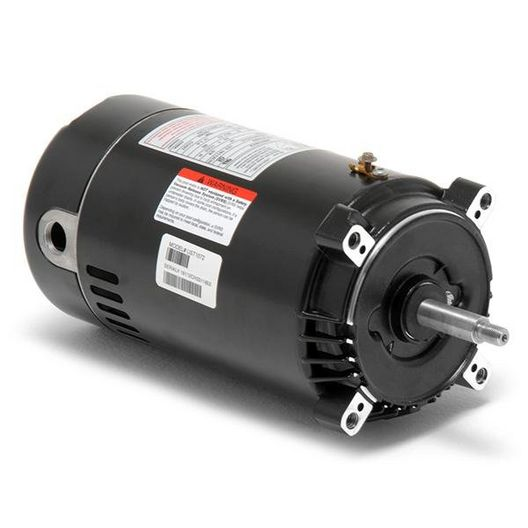 UST1072 C-Face 3/4 HP Single Speed Up Rated 56J Pool Motor