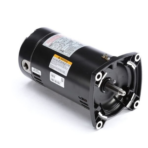 Century A.O. Smith - 48Y Square Flange 1/2 HP Full Rated Pool Filter Motor, 13.4/6.7A 115/230V