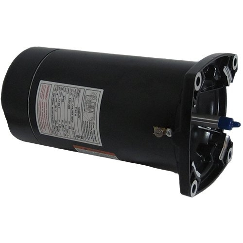Century A.O. Smith - USQ1072 Square Flange 3/4 HP Up-Rated 48Y Pool Filter Motor, 115/230V