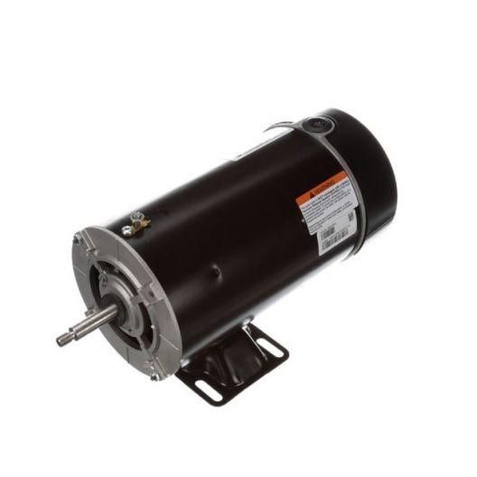 Flex-48 48Y Thru-Bolt 2 HP Single Speed Above Ground Pool Motor, 10.0/20.0A 115/230V
