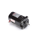 56J C-Face 1 HP Three Phase Pool and Spa Pump Motor, 4.0/2.0A 208-230/460V