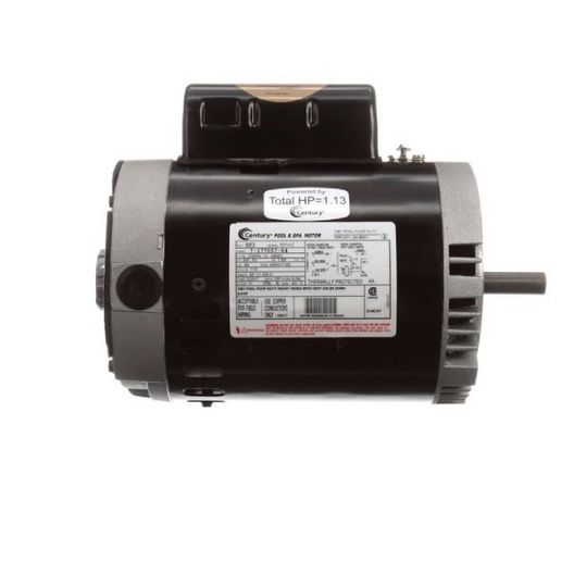 Century A.O. Smith - 56C C-Face 3/4 or 0.10 HP Dual Speed Full Rated Pool and Spa Pump Motor, 11.2/5.0A 115V - 620086