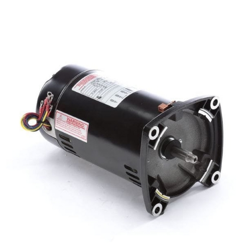 Century A.O. Smith - 48Y Square Flange 1 HP Single Speed Three Phase Pool and Spa Pump Motor, 4.7/2.35A 208-230/460V