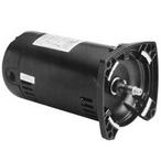 48Y Square Flange 1 or 1/6 HP Dual Speed Up-Rated Pool and Spa Pump Motor, 6.1/2.1A 230V