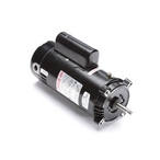 56J C-Face 2-1/2 HP Single Speed Up Rated Pool Filter Motor, 12.6/11.4A 208-230V
