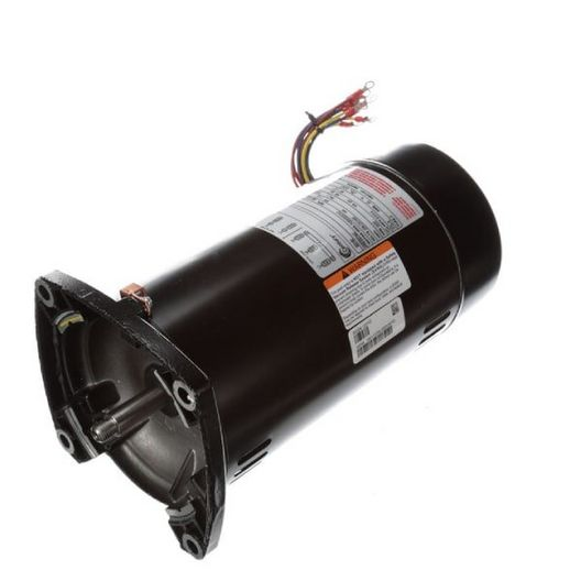 Century A.O Smith  48Y Square Flange 1-1/2 HP Single Speed Three Phase Pool and Spa Motor
