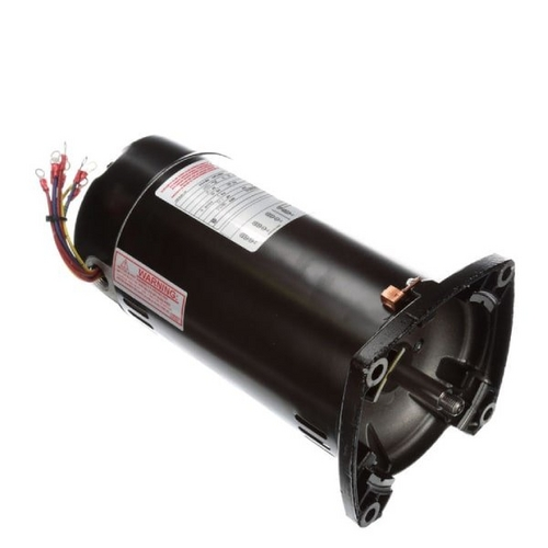 Century A.O. Smith - 48Y Square Flange 1-1/2 HP Single Speed Three Phase Pool and Spa Motor