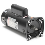 SQ1202 Square Flange 2 HP Full Rated 48Y Pool Pump Motor, 11.2A 230V