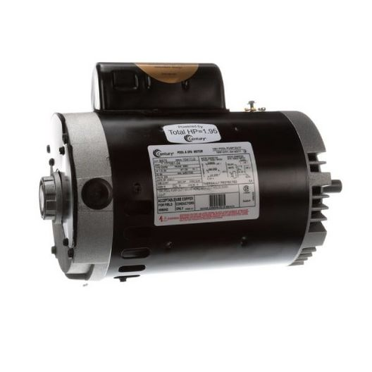 Century A.O. Smith - 56C C-Face 1-1/2 or 0.20 HP Dual Speed Full Rated Pool and Spa Pump Motor, 8.9/3.1A 230V - 620131