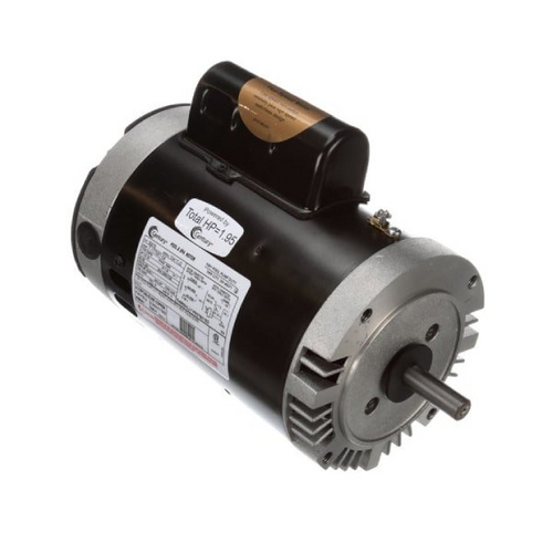 Century A.O. Smith - 56C C-Face 1-1/2 or 0.20 HP Dual Speed Full Rated Pool and Spa Pump Motor, 8.9/3.1A 230V