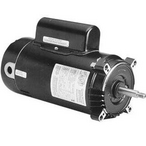 STS1152R C-Flange 1.5/0.25HP Dual Speed Full Rated 56J Pump Motor, 230V