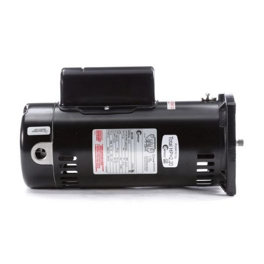 Century A.O. Smith - 48Y Square Flange 1-1/2 or 1/4 HP Dual Speed Full Rated Pool and Spa Pump Motor - 620158