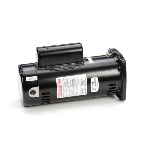 Century A.O. Smith - 48Y Square Flange 2 or 1/3 HP Dual Speed Full Rated Pool and Spa Pump Motor, 11.3/3.3A 230V