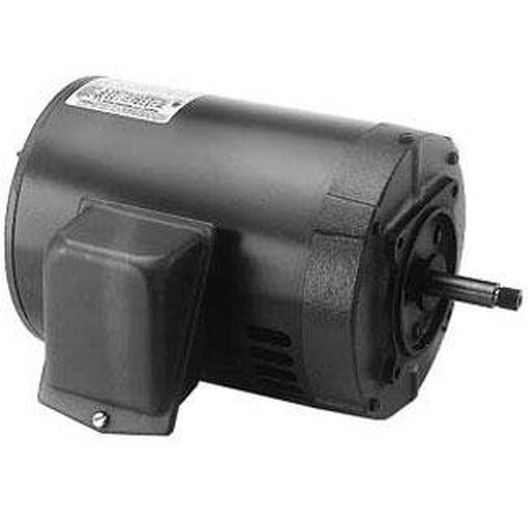 Century A.O Smith  182TY Horizontal 5 HP Three Phase Purex Replacement Pump Motor 14.0-13.5/6.75A 208-220/440V