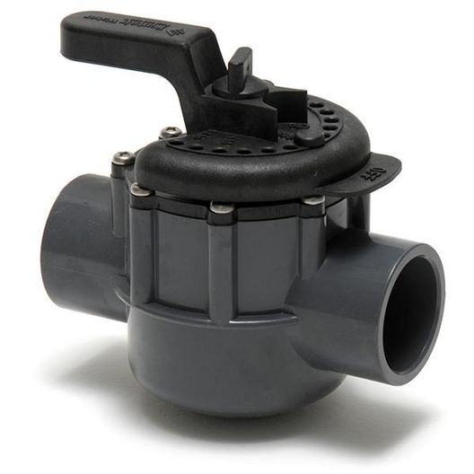 "Pentair - 263038 Diverter Valve Two Port with 1-1/2"" ID and 2"" OD - 620921"