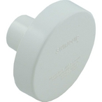 Pentair - Complete Insider Wall Inlet 1-1/4in. Slip Concrete, White - 620922