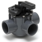 "263037 Diverter Valve Three Port with 1-1/2"" ID & 2"" OD PVC Pipe"