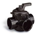"Pentair - 263028 Three Port Diverter Valve with 2"" PVC Pipe - Grey - 620948"