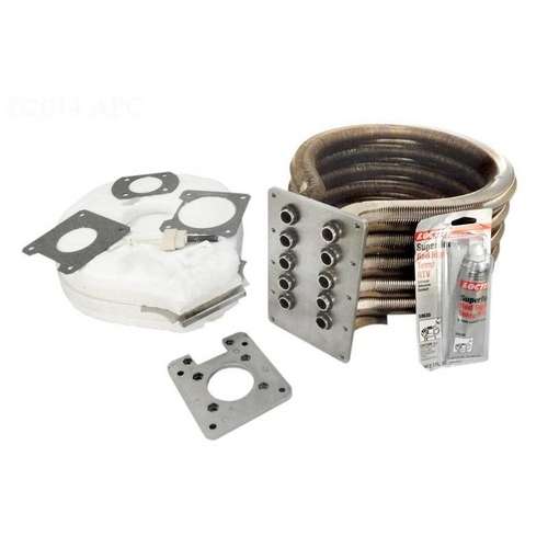Pentair - 77707-0243 Tube Sheet Coil Assembly Kit for MasterTemp/Max-E-Therm 333HD
