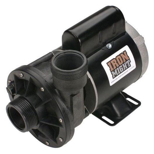 Iron Might 1/15HP Single-Speed Spa Pump, 48-Frame Circulating Pump, 230V