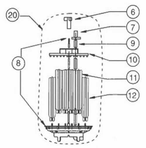 Pentair - Air Bleed Tube, 88 GPM Filter