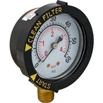 Pentair - Filter Pressure Gauge, With Dial 1/4, Bottom Connection - 622468