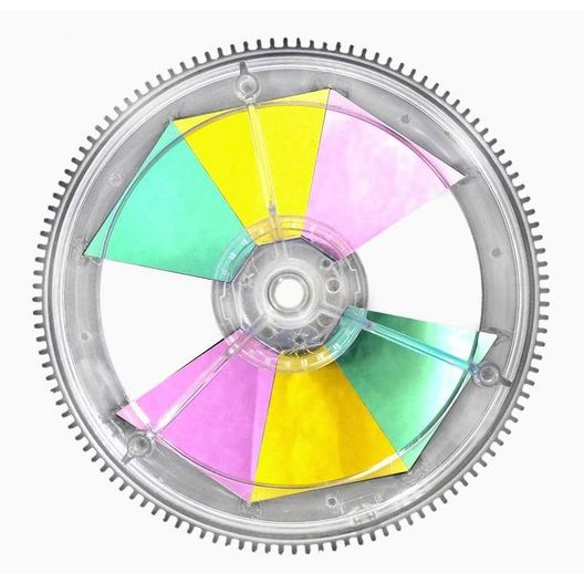 Colorwheel Assembly (Sam)
