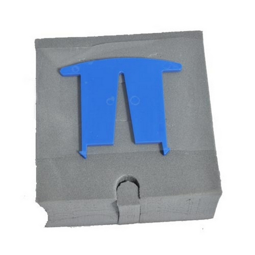 Aqua Products - Pool Cleaner Foam Block with Gray Tape and 4in. Square Float