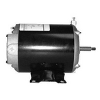 U.S. Motors - Emerson 48Y Thru-Bolt Dual Speed 1/0.12HP Full Rated Pool and Spa Motor - 623391