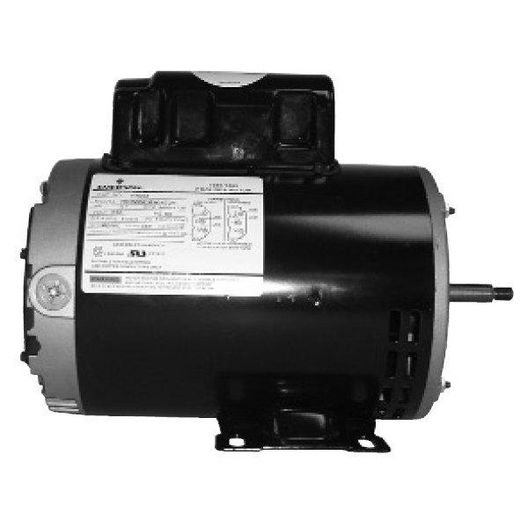 Emerson 56Y Thru-Bolt Single Speed 1-1/2HP Full-Rated Pool and Spa Motor