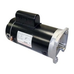 U.S Motors  Emerson 56Y Square Flange Single Speed 2HP Full Rated Pool and Spa Motor